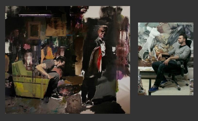 Adrian Ghenie, în ascensiune pe piaţa de artă