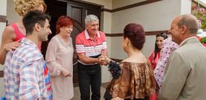"""Luminita Gheorghiu, soacră cu stil, în comedia """"Cuscrii"""""""