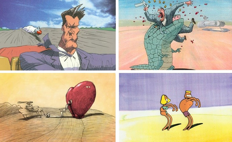 Bill Plympton, regele animaţiei independente, revine la Anim'est