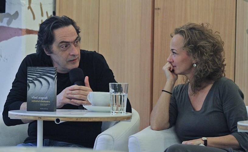 Vlad Zografi, două lansări de carte în FNT