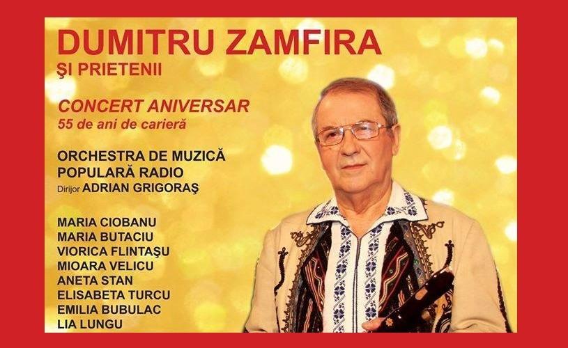 55 de ani de virtuozitate – Dumitru Zamfira, la Sala Radio