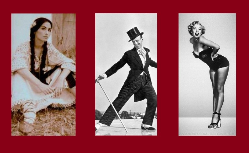 Ciuleandra, Fred Astaire şi Marilyn Monroe, personaje la Halloween Charity Ball