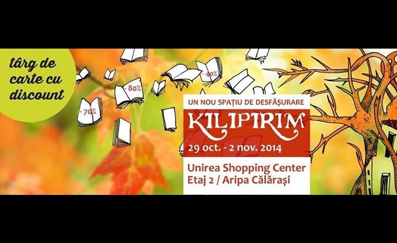 KILIPIRIM, ediţia de toamnă, între 29 octombrie şi 2 noiembrie, la Unirea Shopping Center