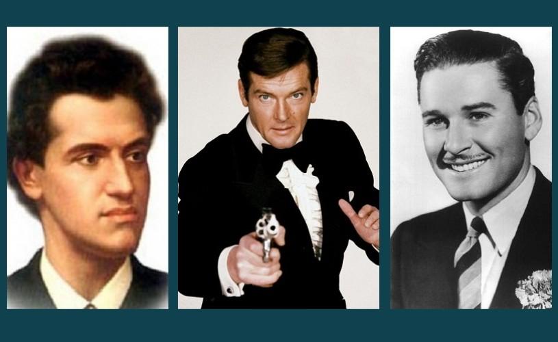 Ciprian Porumbescu, Roger Moore, Errol Flynn – Ştiaţi că…?