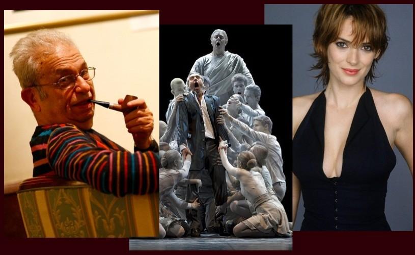 Radu Cosasu, Don Giovanni & Winona Ryder – Ştiaţi că…?