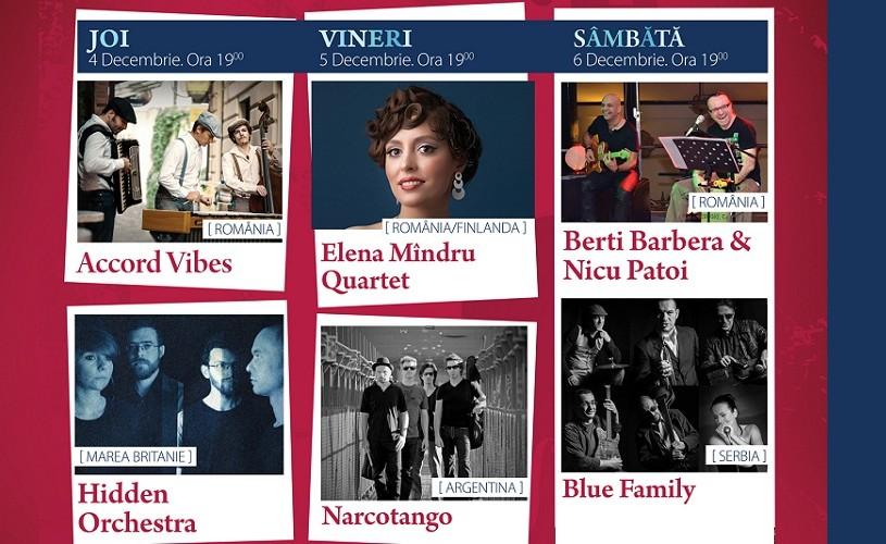 Sharie Williams Band şi Narcotango, la Brasov Jazz & Blues Festival
