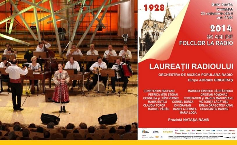 86 de ani de folclor la Radio – Concert aniversar la Sala Radio