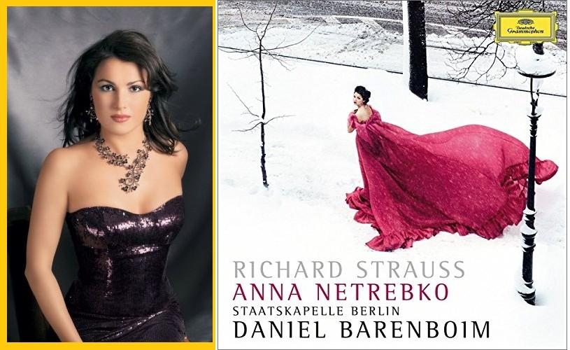 Un nou disc al sopranei Anna Netrebko