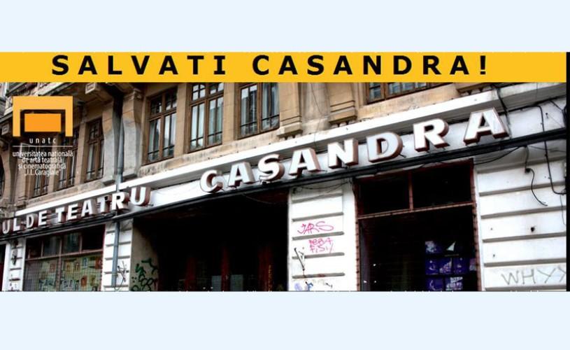 UNATC vrea să salveze Studioul de Teatru Casandra
