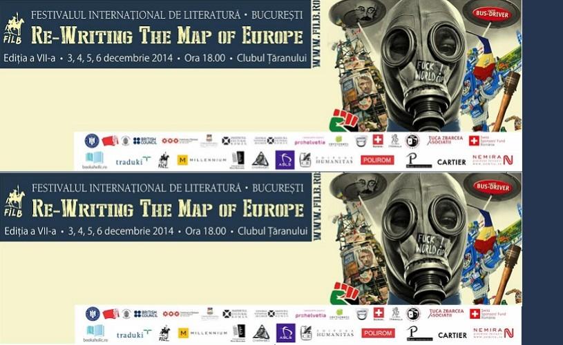 Festivalul Internaţional de Literatură de la Bucureşti debutează miercuri, la Clubul Ţăranului