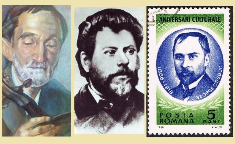 Bacovia, Creangă, Coşbuc şi Alecsandri, pe timbrele româneşti