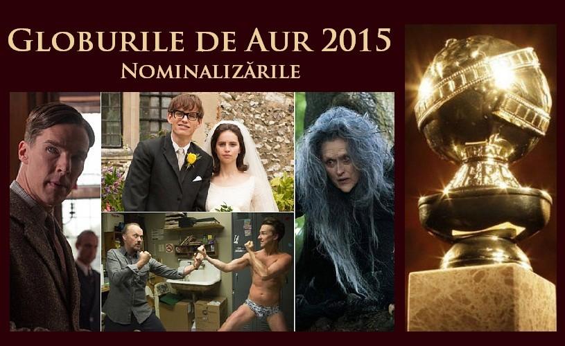 Globurile de Aur 2015: Birdman, Boyhood si The Imitation Game – cele mai multe nominalizări
