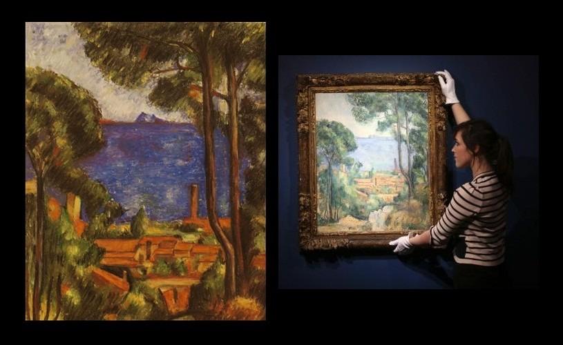 Un Cezanne, estimat la 18,9 milioane de dolari, scos la licitaţie de casa Christie's