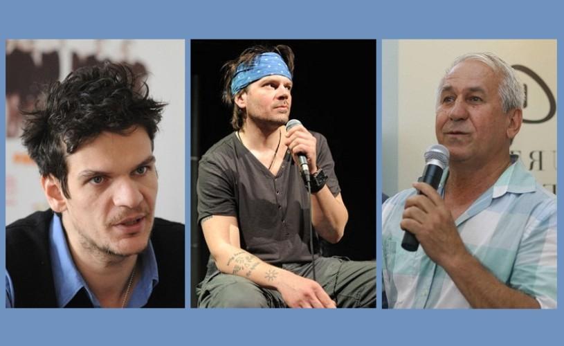 Tudor Chirilă, Florin Piersic Jr. şi George Mihăiţă, la Târgul de Carte miniLibri