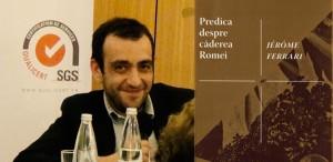 Jérôme Ferrari - lansare de carte la Librăria Humanitas