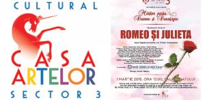 Romeo si Julieta, de mărțișor, pentru doamnele și domnișoarele din Sectorul 3