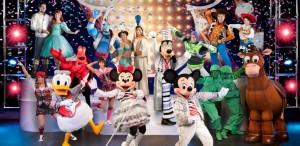 Mickey Mouse şi prietenii săi au sosit la Bucureşti