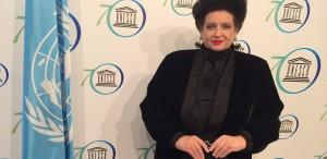 Mariana Nicolesco, la ceremonia UNESCO
