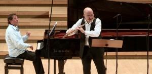 Ion Bogdan Ştefănescu şi Horia Mihail - a cincea ediţie a Turneului Flautul Fermecat