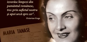 MEMORIA CULTURALĂ - Interviu cu Maria Tănase