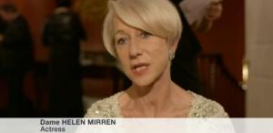 Actriţa Helen Mirren şi musicalul