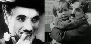 Chaplin, doi metri de beton și un zâmbet inexpugnabil