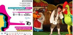 """Festivalul Internațional """"TEATRU, STRADĂ și COPIL"""", la Țăndărică!"""