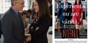 """Robert De Niro şi Anne Hathaway, în """"Internul"""", pe marile ecrane"""