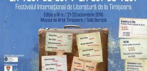 În octombrie are loc Festivalul Internațional de Literatură de la Timișoara