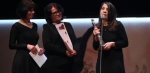 Anca Damian, câștigătoarea premiului ''Audentia'' al Festivalului de Film de la Istanbul