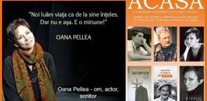 Oana Pellea, la Serile