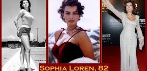 Sophia Loren, 82