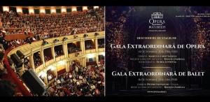 Două spectacole excepţionale deschid stagiunea la ONB