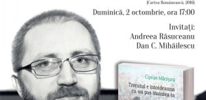 """""""Trecutul e întotdeauna cu un pas înaintea ta"""", la Humanitas Cișmigiu"""