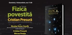 """""""Fizica povestită"""", poveste de seară la Humanitas-Cișmigiu"""