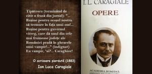 165 de ani de la nașterea lui Ion Luca Caragiale
