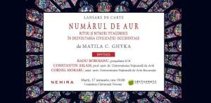 Numărul de aur, de Matila C. Ghyka, o carte fundamentală pentru istoria ideilor