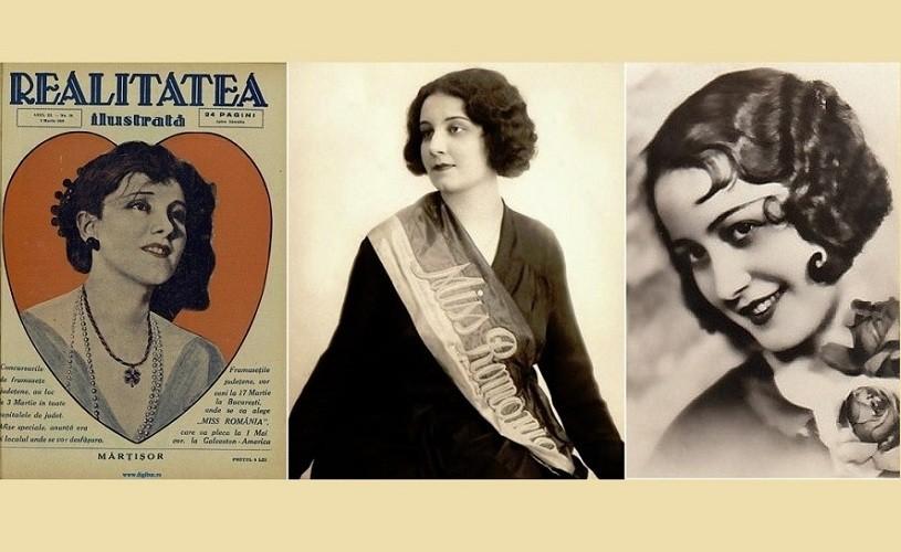 """Prima """"Miss România"""". Se întâmpla de Dragobete, în anul 1929"""