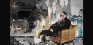 """""""Self Portrait as Charles Darwin"""", de Adrian Ghenie, vândut cu 3,2 milioane de lire sterline"""