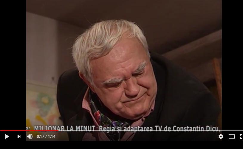 """""""Milionar la minut"""", cu Dem Radulescu și Mişu Fotino, la TVR 2"""