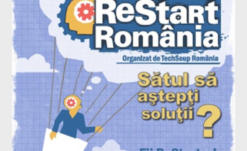 Competiţie ReStart Romania: Cele mai bune idei online care pot schimba România în 2012