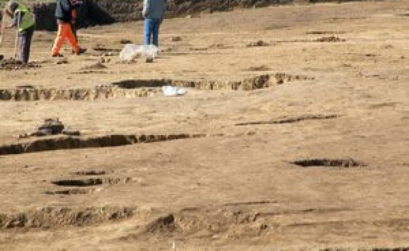 Tulcea: In cetatea Noviodunum s-a descoperit o basilică creştină