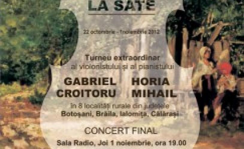 Vioara lui George Enescu va ajunge la sate