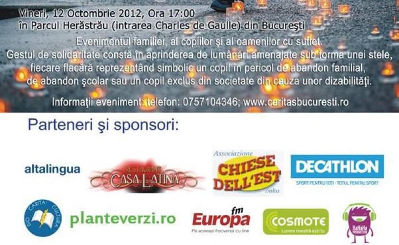Cel mai important eveniment de solidarizare din Romania are loc vineri in Bucuresti