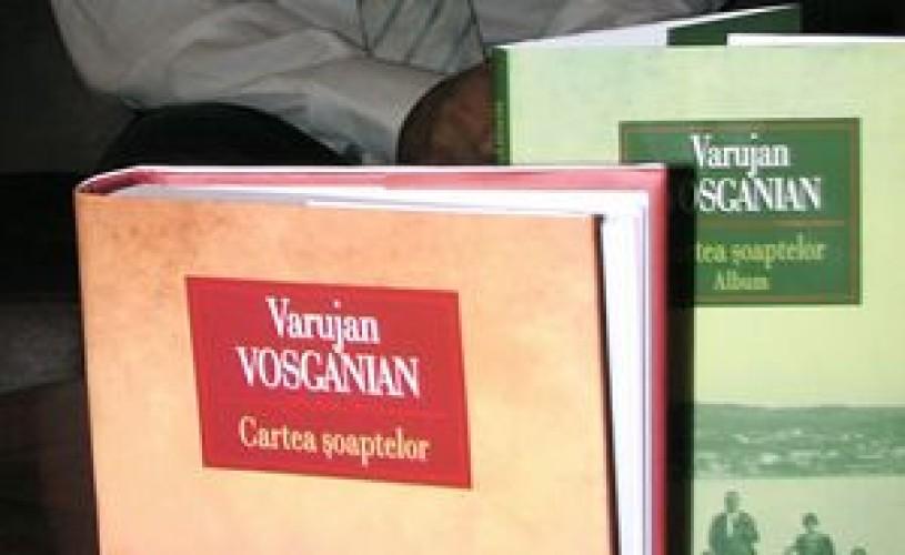 """""""Cartea Şoaptelor"""" a lui Varujan Vosganian, a doua ediţie în limba ebraică"""