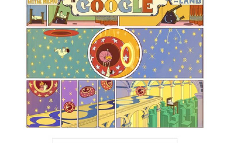 """GOOGLE sărbătoreşte 107 ani de """"Little Nemo""""."""