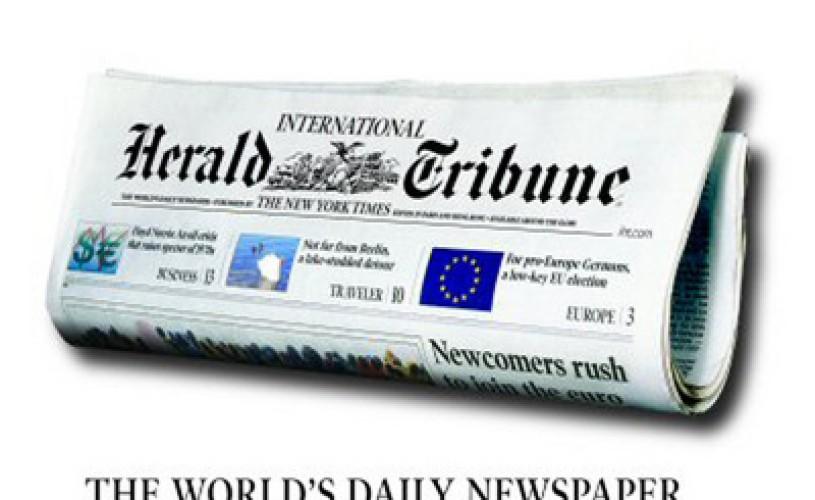 International Herald Tribune sărbătoreşte, joi, 125 de ani de la înfiinţare