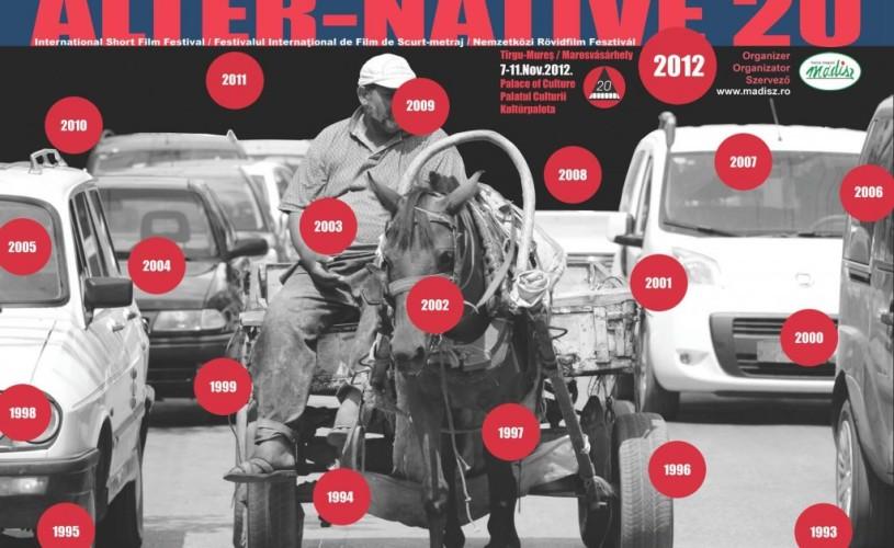 Începe a XX-a ediţie a Festivalului internaţional de film de scurt-metraj Alter-Native, la Târgu Mureş