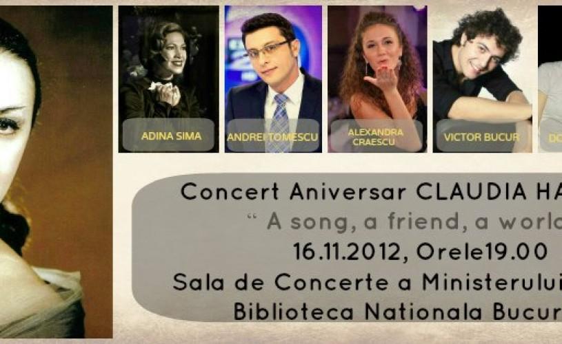 Concert aniversare Claudia Hanghiuc