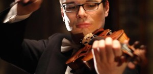 Violonistul Alexandru Tomescu, sub bagheta lui Gerd Schaller, la Sala Radio